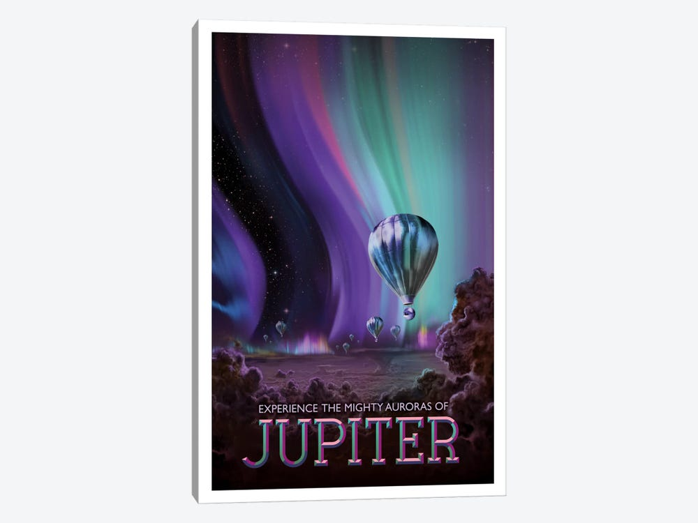 Jupiter by NASA 1-piece Canvas Print