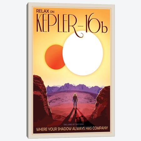 Kepler-16b Canvas Print #NAS8} by NASA Art Print