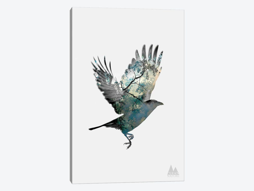Bird by Clean Nature 1-piece Canvas Print