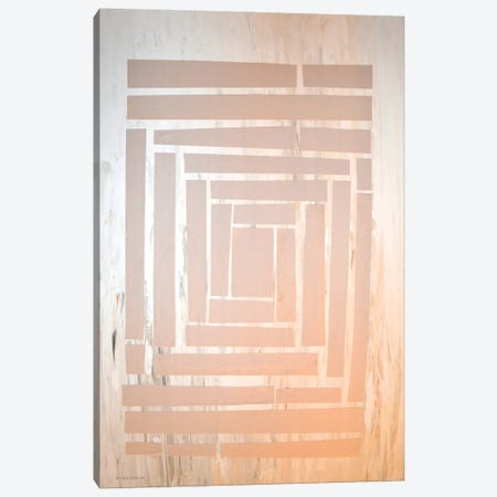 The Maze II Canvas Print #NAV11} by Natalie Avondet Canvas Wall Art