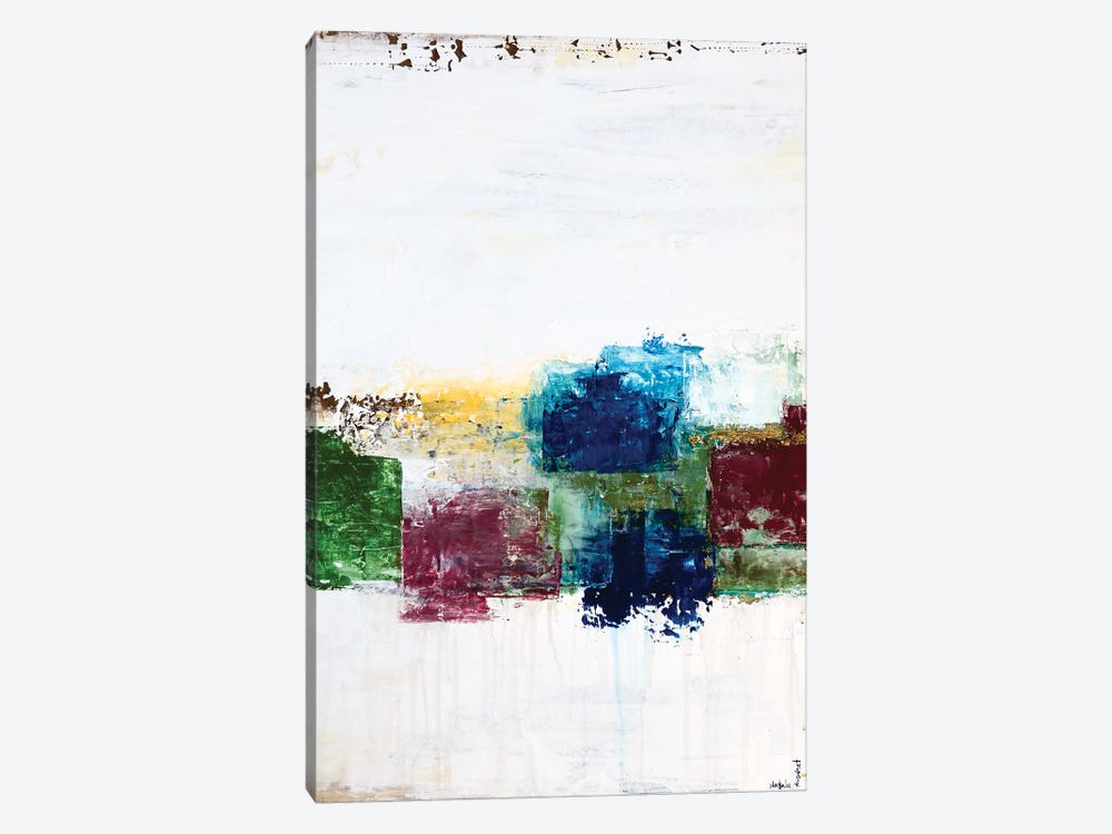 Color Swatches I by Natalie Avondet 1-piece Canvas Wall Art