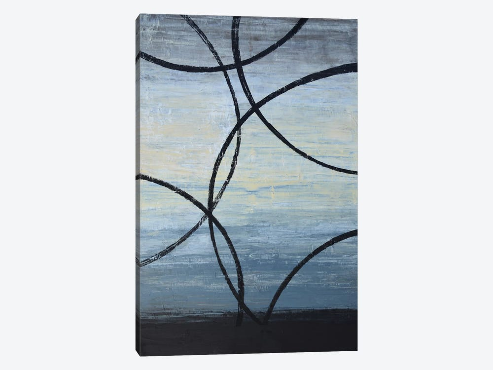 Tangled Loops I by Natalie Avondet 1-piece Canvas Print