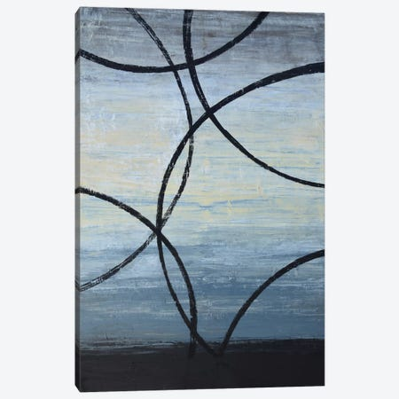 Tangled Loops I 3-Piece Canvas #NAV4} by Natalie Avondet Canvas Art Print