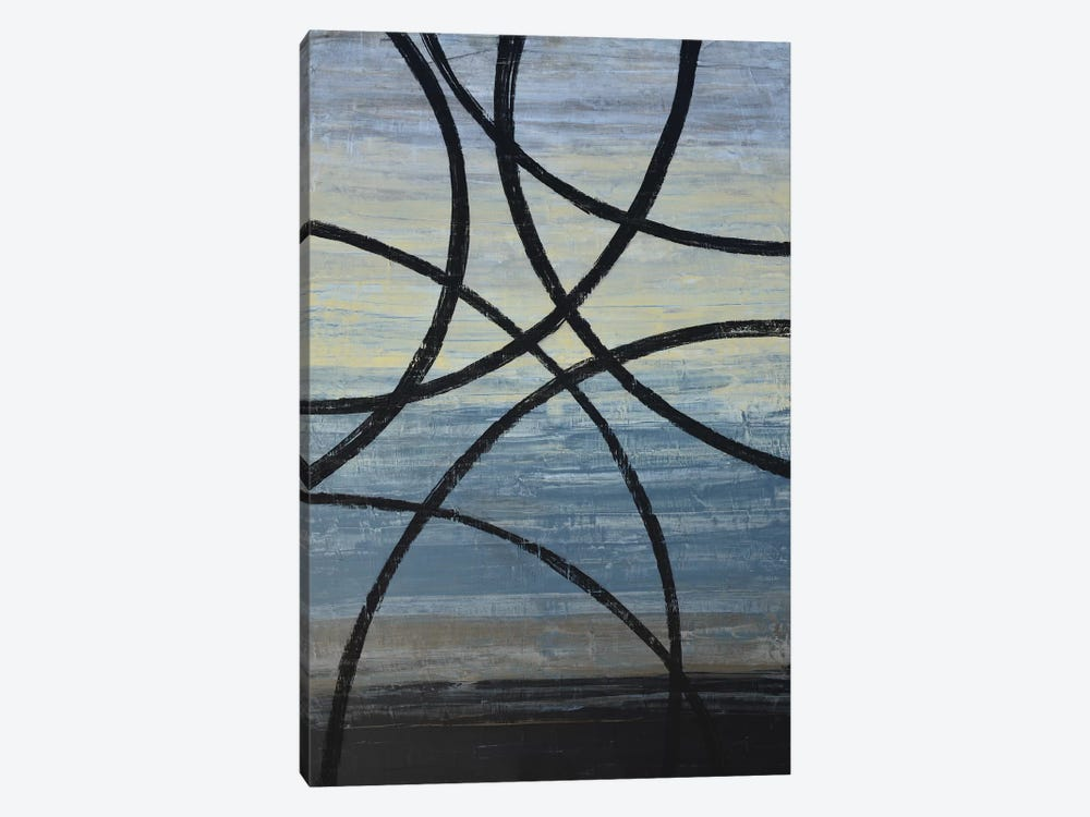 Tangled Loops II by Natalie Avondet 1-piece Canvas Artwork