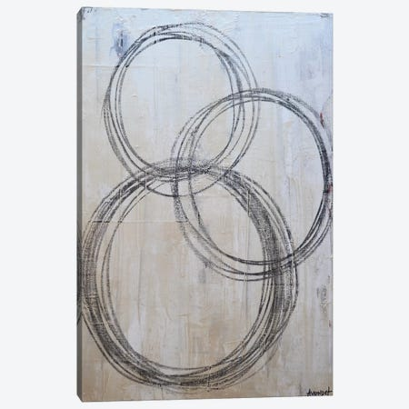 Circular I Canvas Print #NAV8} by Natalie Avondet Canvas Art