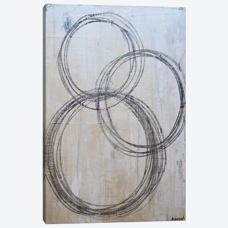 Circular I Canvas Print #NAV8} by Natalie Avondet Canvas Art