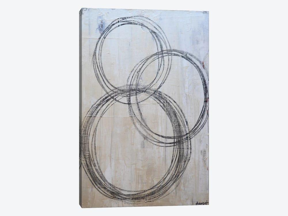 Circular I by Natalie Avondet 1-piece Canvas Art Print