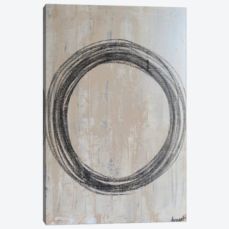 Circular II 3-Piece Canvas #NAV9} by Natalie Avondet Canvas Artwork
