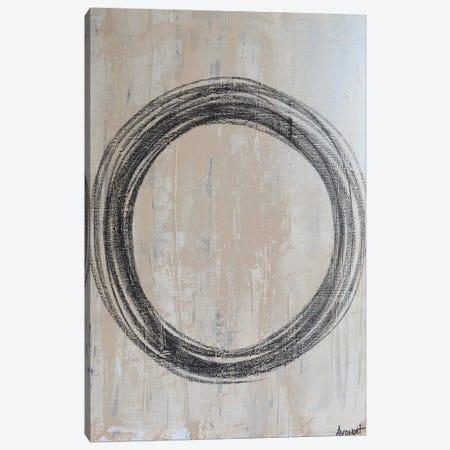 Circular II Canvas Print #NAV9} by Natalie Avondet Canvas Artwork