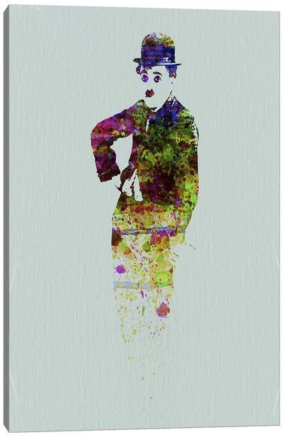 Charlie Chaplin II Canvas Art Print