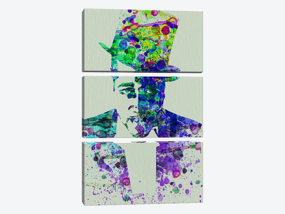 Duke Ellington by Naxart 3-piece Canvas Artwork