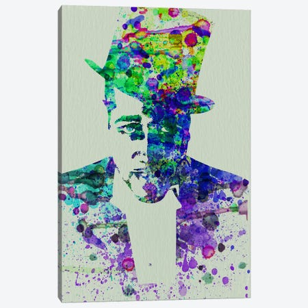 Duke Ellington Canvas Print #NAX110} by Naxart Canvas Art Print