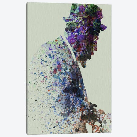 Thelionious Monk II Canvas Print #NAX112} by Naxart Canvas Print