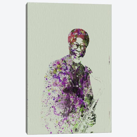 Joe Henderson I Canvas Print #NAX113} by Naxart Canvas Print