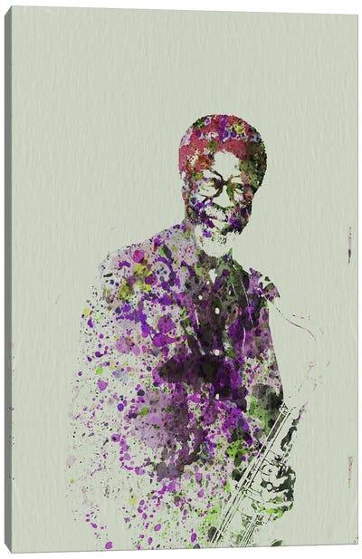 Joe Henderson I Canvas Art Print