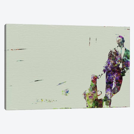 Joe Henderson II Canvas Print #NAX114} by Naxart Canvas Wall Art
