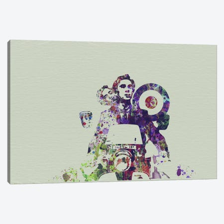 Mod Life Canvas Print #NAX116} by Naxart Canvas Artwork