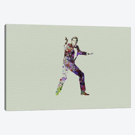 Agent 007 Canvas Print #NAX117} by Naxart Canvas Art