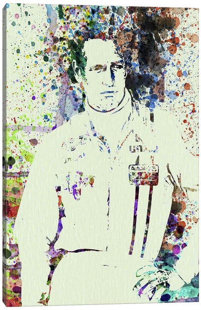 Paul Newman Canvas Art Print