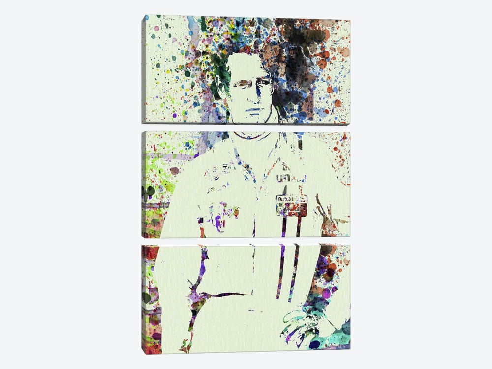 Paul Newman by Naxart 3-piece Art Print