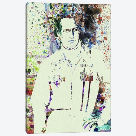 Paul Newman Canvas Print #NAX119} by Naxart Canvas Print