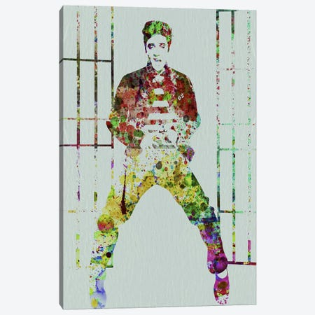 Elvis Canvas Print #NAX120} by Naxart Canvas Art