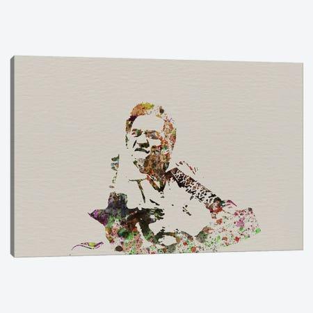 Johnny Cash Canvas Print #NAX123} by Naxart Canvas Art