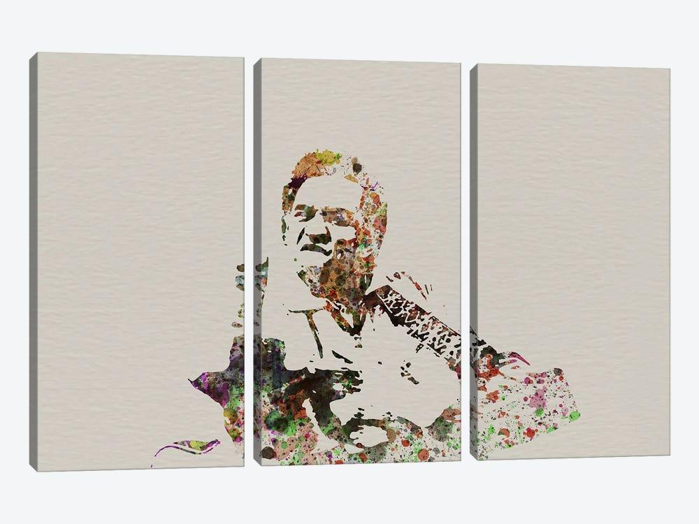 Johnny Cash by Naxart 3-piece Canvas Artwork