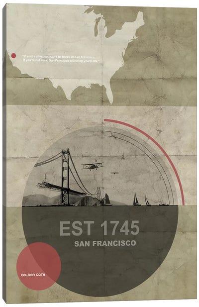 San Francisco Will Bring You Alive Canvas Print #NAX126