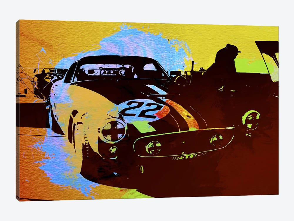 Ferrari Watercolor I 1-piece Art Print