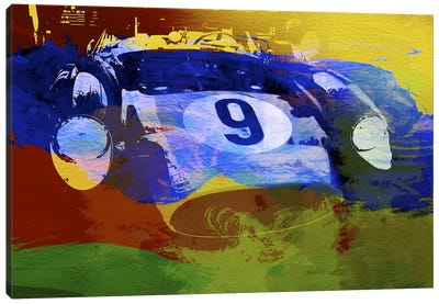 Ferrari Testarossa Canvas Art Print
