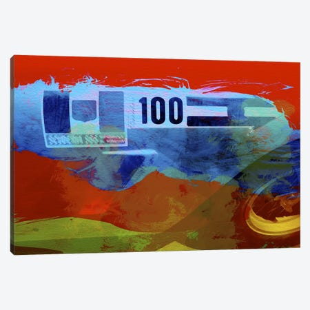 Aston Martin Canvas Print #NAX146} by Naxart Canvas Art Print