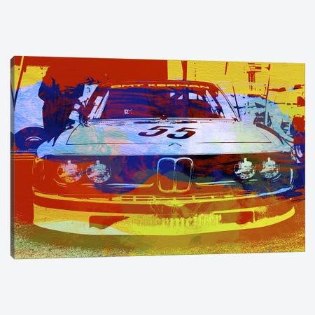 BMW Racing Canvas Print #NAX149} by Naxart Canvas Art
