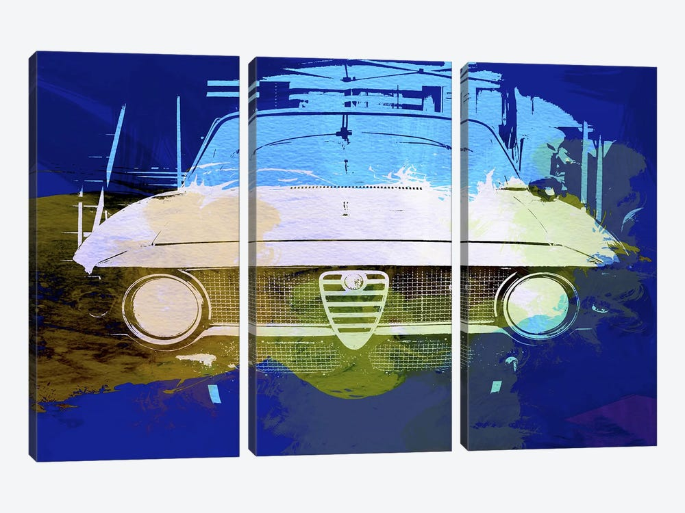 Alfa Romeo by Naxart 3-piece Canvas Art