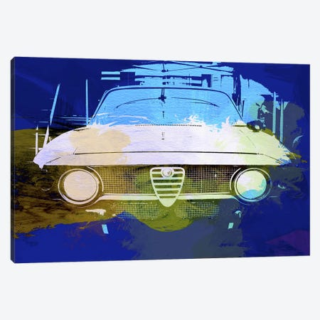 Alfa Romeo 3-Piece Canvas #NAX152} by Naxart Canvas Print