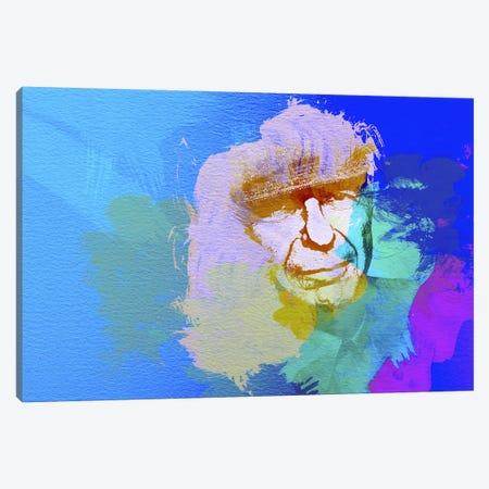 Leonard Cohen Canvas Print #NAX18} by Naxart Canvas Art