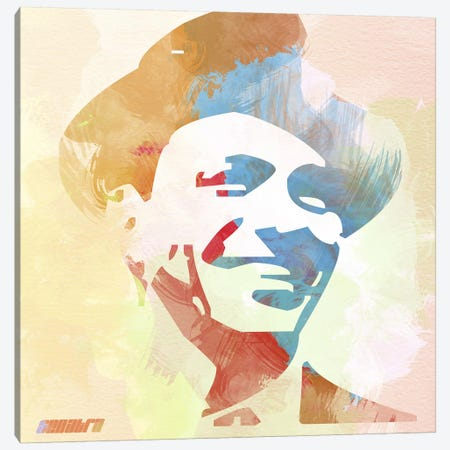 Frank Sinatra Canvas Print #NAX1} by Naxart Canvas Wall Art