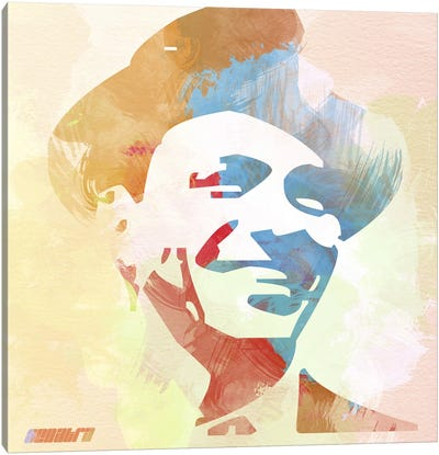 Frank Sinatra Canvas Print #NAX1