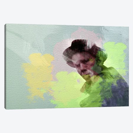 Tom Waits Canvas Print #NAX20} by Naxart Art Print