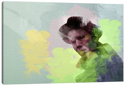 Tom Waits Canvas Print #NAX20