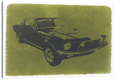 1968 Ford Mustang Canvas Print #NAX214
