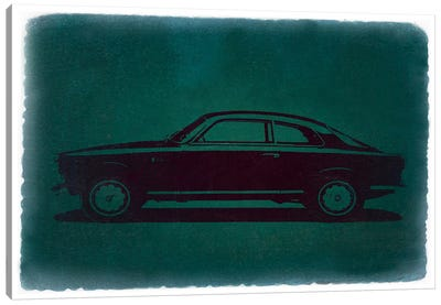 Alfa Romeo GTV (Grand Turismo Veloce) Canvas Art Print
