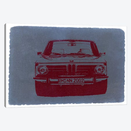 BMW 2002 Canvas Print #NAX220} by Naxart Art Print