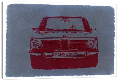 BMW 2002 Canvas Art Print