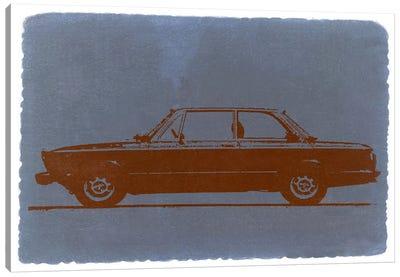 BMW 2002, Profile View Canvas Art Print