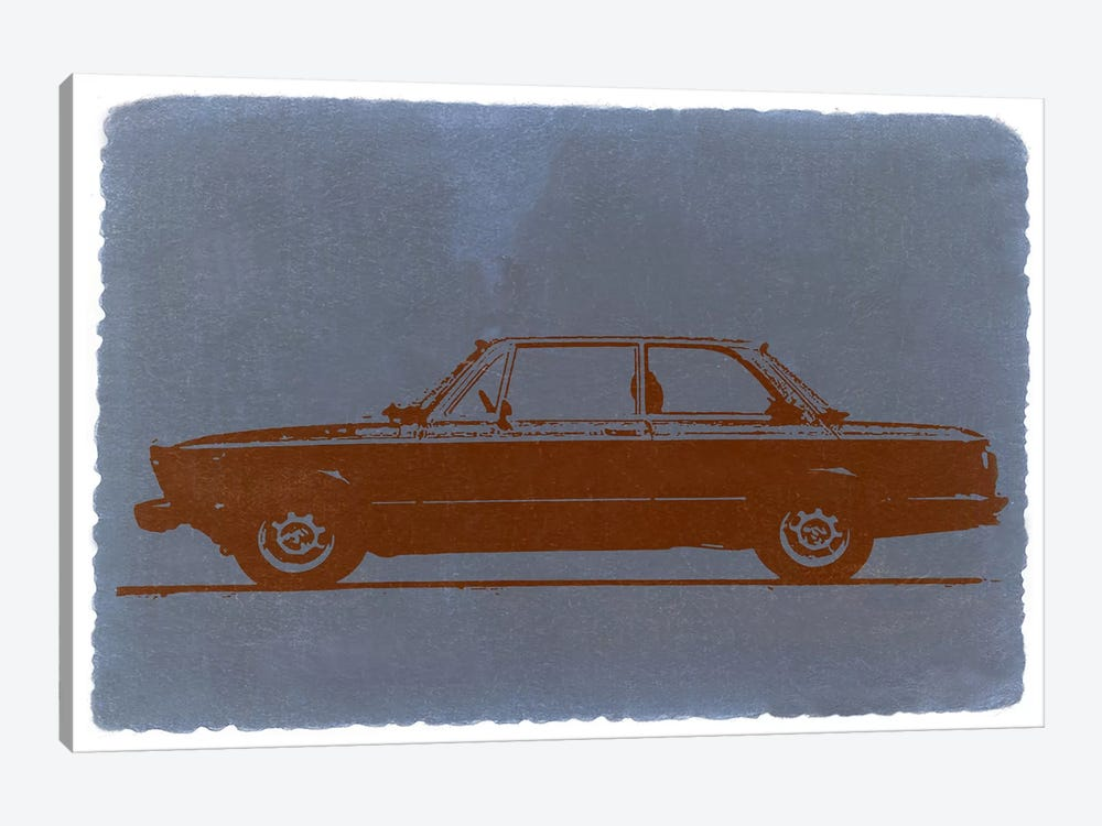 BMW 2002, Profile View by Naxart 1-piece Canvas Art