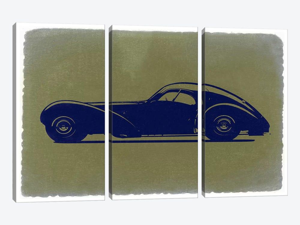 Bugatti Type 57SC Atlantic by Naxart 3-piece Canvas Print