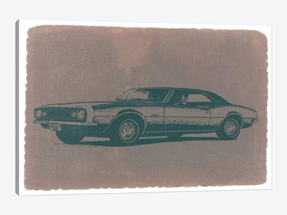 Chevrolet Camaro by Naxart 1-piece Canvas Wall Art