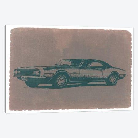 Chevrolet Camaro Canvas Print #NAX225} by Naxart Canvas Artwork