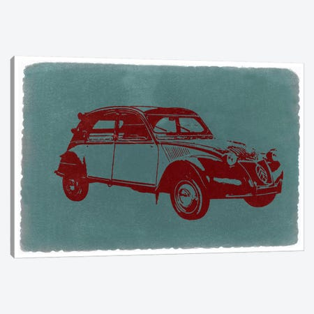 Citroën 2CV Canvas Print #NAX226} by Naxart Canvas Art